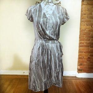 Banana Republic Dogwood Wrap Dress